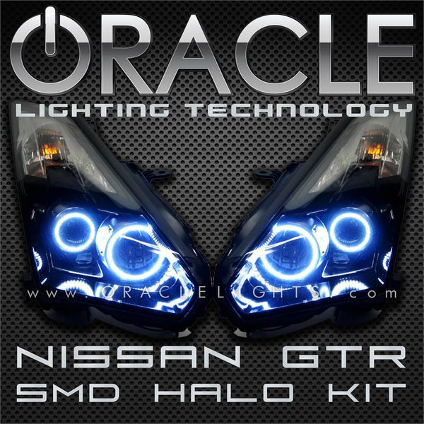 2009-2013 Nissan GTR ORACLE Halo Kit