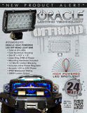 "ORACLE Off-Road 8"" 24W LED Spot Light Bar"