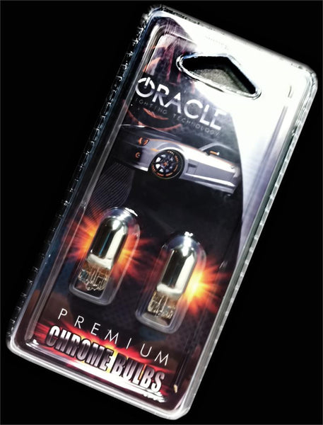 ORACLE T10 Chrome Bulbs (Pair)