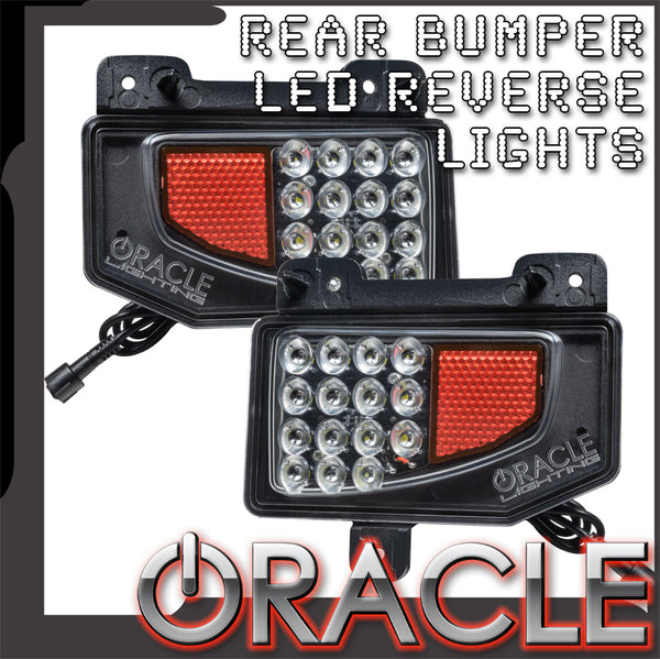 ORACLE Lighting Rear Bumper LED Reverse Lights for Jeep Gladiator JT