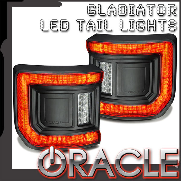 ORACLE Lighting Flush Mount LED Tail Lights for Jeep Gladiator JT - PRE-ORDER