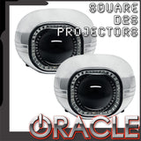 "ORACLE Square 2.75"" D2S Retrofit Projectors (Pair)"