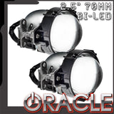 "ORACLE 2.5"" 70mm Bi-LED 35W Retrofit Projectors (Pair)"