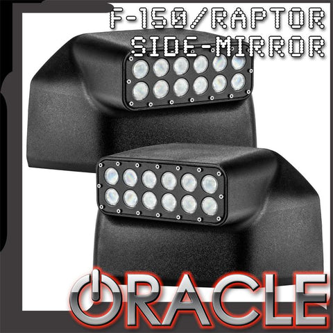 ORACLE 2015-2019 Ford F150 LED Off-Road Side Mirrors