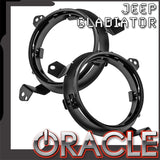 "ORACLE 2020 Jeep Gladiator Adjustable 7"" Headlight Brackets (Pair)"