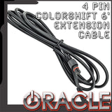 ORACLE 4 Pin 6' ColorSHIFT Rock Light Extension Cable