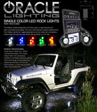ORACLE Single Color Underbody Rock Light Kit - 2 Piece
