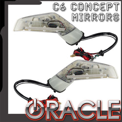 ORACLE Chevy Corvette C6 Concept Side Mirrors with Sirius/XM Satellite Antenna