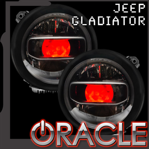 "ORACLE ""Demon Eye"" ColorSHIFT Projector Illumination Kit - Jeep Gladiator"