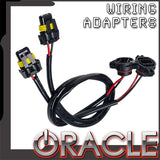 ORACLE Fog Light Wiring Adapters- 5202 to 9006
