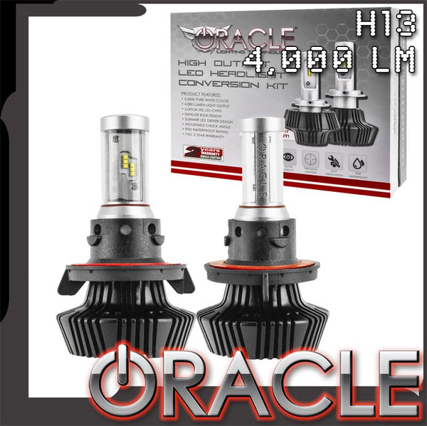 ORACLE 2018-2020 Jeep Wrangler JL LED Bulb Headlight Conversion Kit
