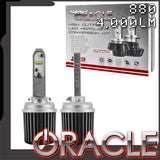 ORACLE Lighting 880 4,000+ Lumen LED Fog Light Bulbs (Pair)