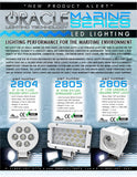 "ORACLE 8"" 24W LED Marine Spot Light"