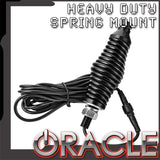 ORACLE Off-Road LED Whip Heavy Duty Spring Mount
