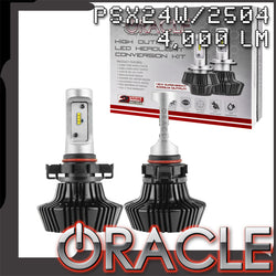 ORACLE PSX24W/2504 4,000+ Lumen LED Headlight Bulbs (Pair)