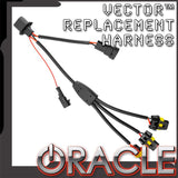 ORACLE Vector™ Replacement Headlight Wiring Harness - JK