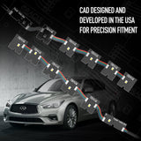 2014-2020 Infiniti Q50 ORACLE ColorSHIFT RGB+W Headlight DRL Upgrade - PRE-ORDER
