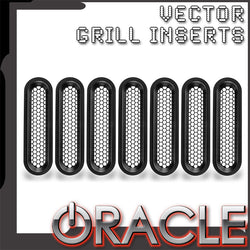 Vertical Mesh Inserts for ORACLE Vector™ Grill (JK Model Only)