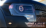 2013-2014 Ford F150/Raptor Projector/HID Style ORACLE Halo Kit