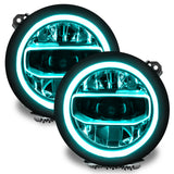 ORACLE Lighting Jeep Gladiator JT ColorSHIFT® RGB+W Headlight DRL Upgrade Kit