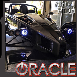 2003-2018 Ariel Atom ORACLE LED Waterproof Surface Mount Halo Kit