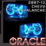 2007-2013 Chevy Avalanche Blue ORACLE Halo Kit