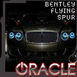 2004-2014 Bentley Flying Spur ORACLE Headlight Halo Kit