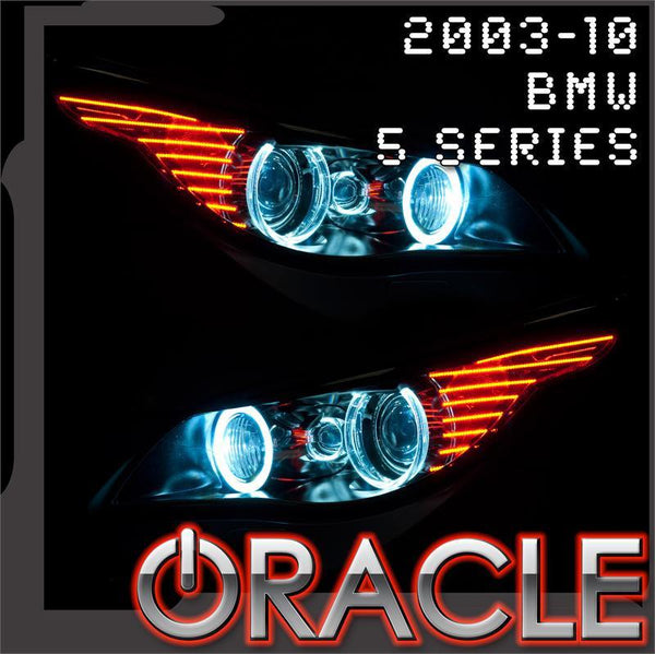 2003-2010 BMW 5 Series ORACLE Halo Kit-E60