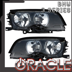 1998-2005 BMW 3 Series Convertible/Coupe Projector Pre-Assembled Headlights