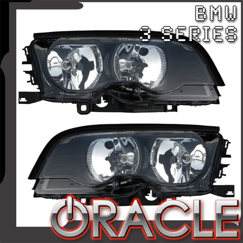 1999-2001 BMW 3 Series Convertible/Coupe Projector Pre-Assembled Headlights