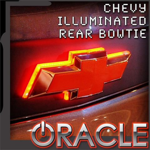 2014-2015 Chevy Illuminated LED Rear Bowtie Emblem