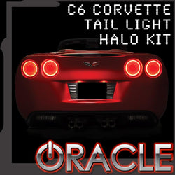 2005-2013 Chevrolet C6 Corvette ORACLE Tail Light Halo Kit