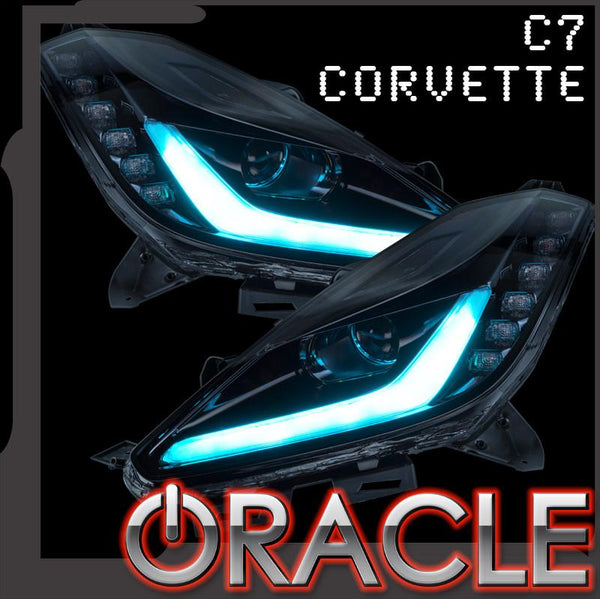 2014-2019 Chevrolet C7 Corvette Stingray ORACLE ColorSHIFT LED Headlight DRL