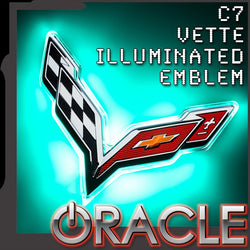 ORACLE Chevy Corvette C7 Rear Illuminated Emblem