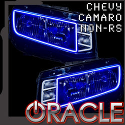 2014-2015 Chevrolet Camaro Non-RS ORACLE Headlight Halo Kit (Square Style)