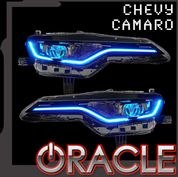 ORACLE Lighting 2019-2021 Chevrolet Camaro SS/RS ColorSHIFT® RGBW+A Headlight DRL Upgrade Kit