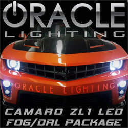 2010-2013 Chevrolet Camaro ZL1 ORACLE Plasma LED Fog and DRL Bulbs