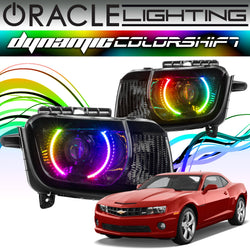 2010-2013 Chevrolet Camaro ORACLE Dynamic ColorSHIFT Headlight Halo Kit