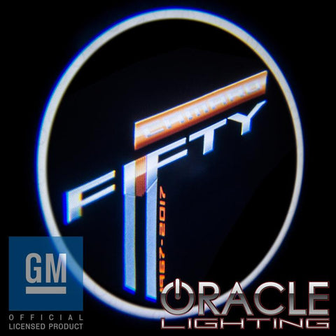 Camaro Fifty Anniversary ORACLE GOBO LED Door Light Projector