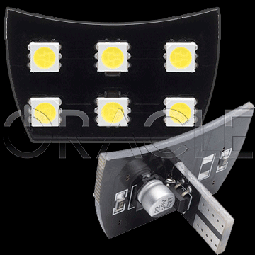 2010-2015 Chevy Camaro ORACLE LED Interior Dome Light Replacement