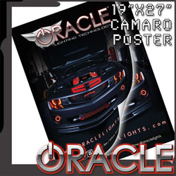 "Official ORACLE Camaro Poster 19"" x 27"""