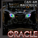 2017-2021 Can-Am Maverick X3 ORACLE Dynamic RGB+W Headlight Halo Kit
