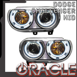 2008-2014 Dodge Challenger Pre-Assembled Headlights - HID