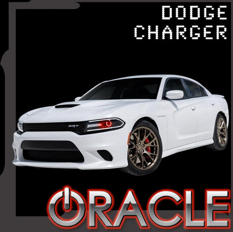 2015-2016 Dodge Charger ORACLE LED Projector Halo Kit