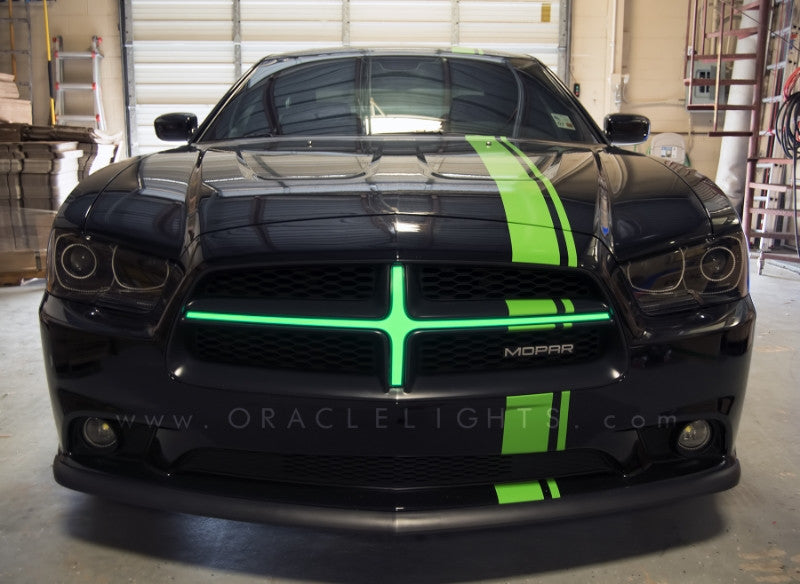 2011 2014 Dodge Charger Oracle Illuminated Grill