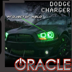 2011-2014 Dodge Charger ORACLE Projector Halo Kit