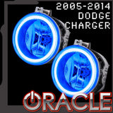 2005-2014 Dodge Charger ORACLE LED Fog Light Halo Kit-Waterproof