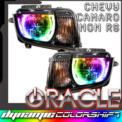 2010-2013 Chevrolet Camaro ORACLE Non RS Pre-Assembled Headlights - Dynamic ColorSHIFT