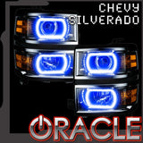 2014-2015 Chevy Silverado 1500 ORACLE ColorSHIFT Halo Kit (Projector Style)