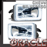 2007-2015 Chevy Silverado Pre-Assembled Fog Lights - Square Style